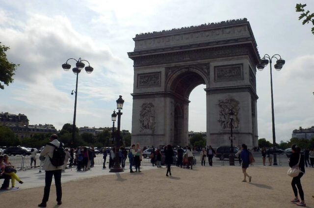 Vítězný oblouk, Paříž, Francie