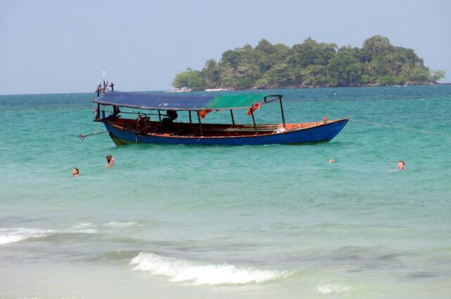 Výlety na ostrůvky za Sihanoukville, Kambodža