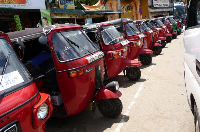 Všudypřítomné tuk-tuky, Srí Lanka