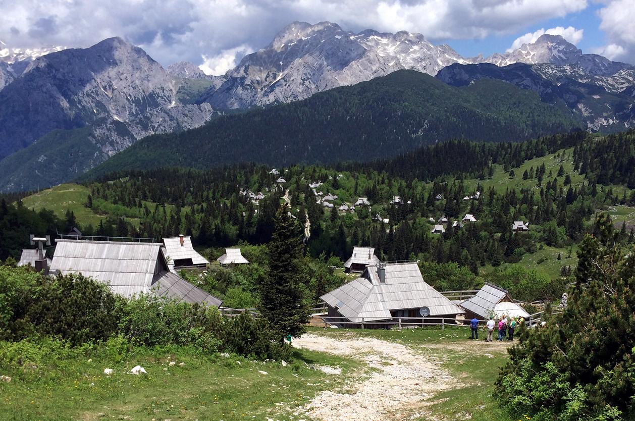 Velika planina, Slovinsko