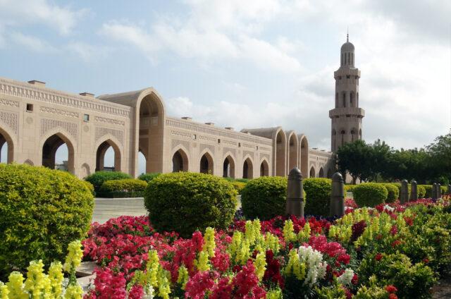 Velká mešita, Maskat, Omán