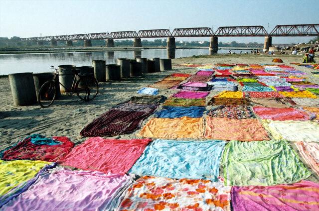 Velké prádlo, Ágra, Indie
