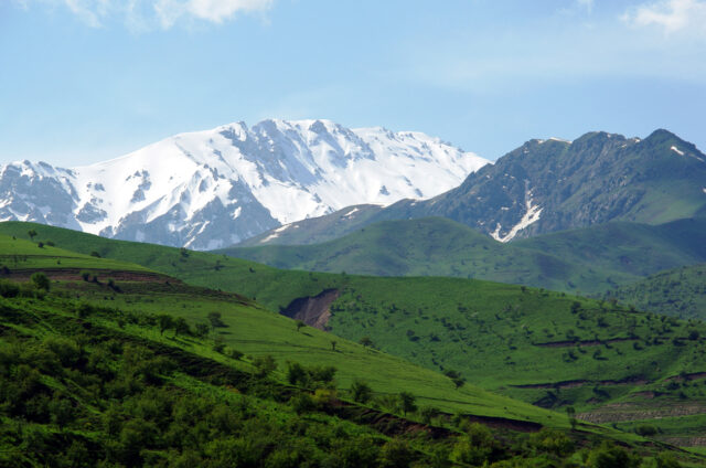 Velký a Malý Čimgan, Uzbekistán