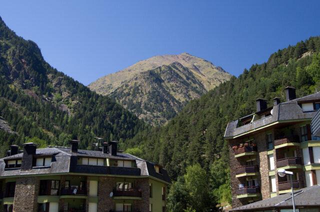 Vesnička Arinsal, začátek turistiky, Andorra
