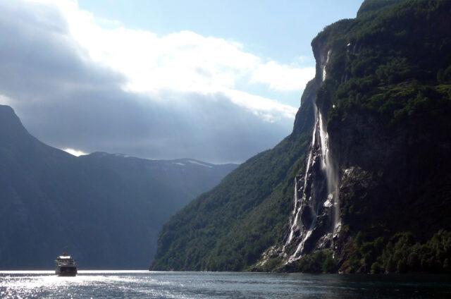 Vodopád Sedm sester, Geiranger, Norsko