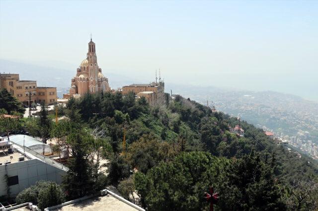Z vyhlídky Harrisa, Libanon