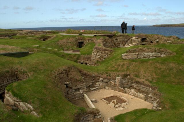 Zachovalé kamenné domy, Orkneje