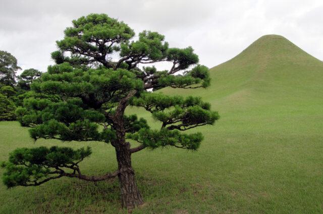 Zahrady Suizendži, Kumamoto, Japonsko