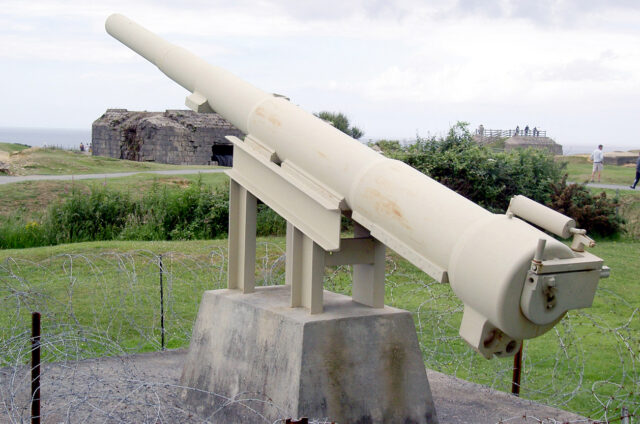 Zbytky německých bunkrů, Pointe du Hoc