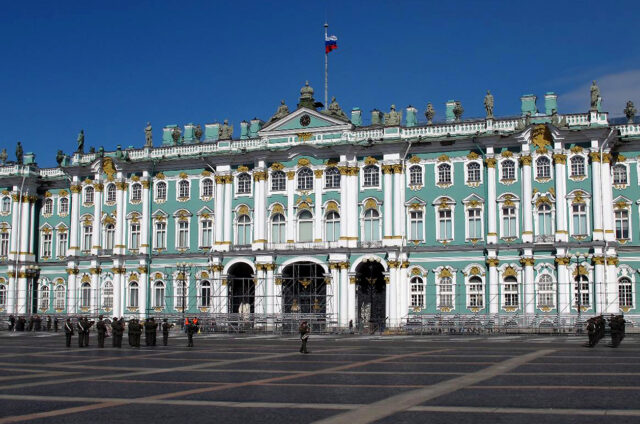 Zimní palác, Petrohrad, Rusko