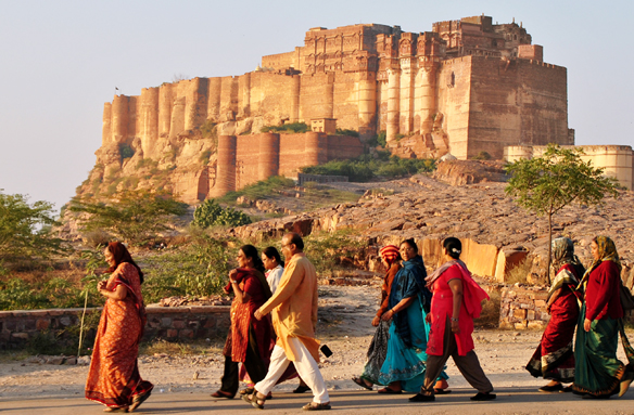 Pevnost Mehrangarh, Džodpur, Indie
