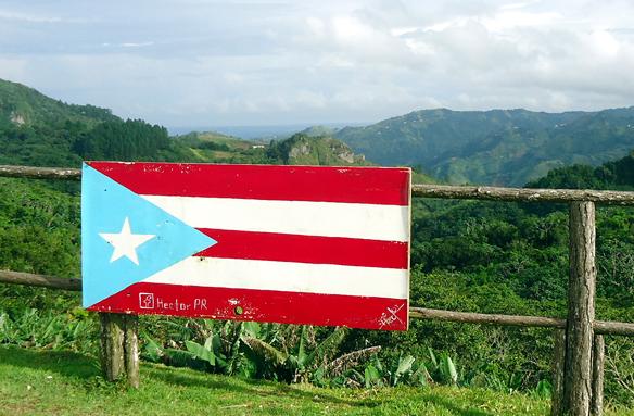 Horské pásmo ostrova, Portoriko