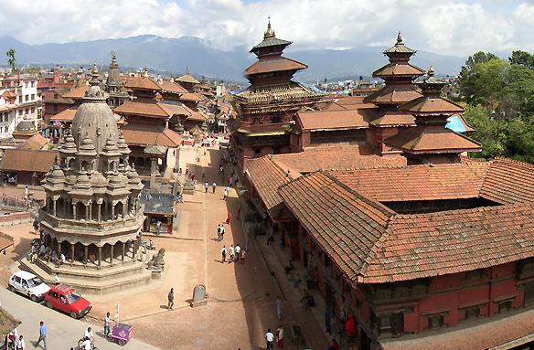Durbar Square, Káthmándú, Nepál