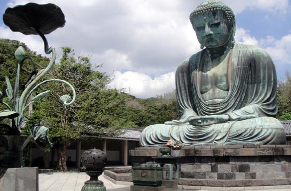 Kamakura, Velký Buddha, Japonsko