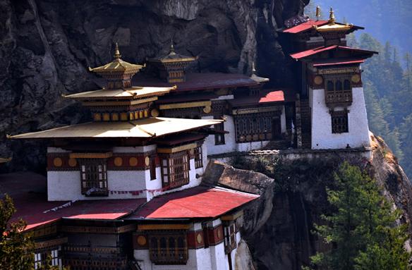 Klášter Tygří hnízdo, Bhútán