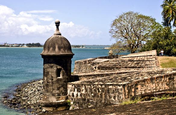 Moře u San Juan, Portoriko