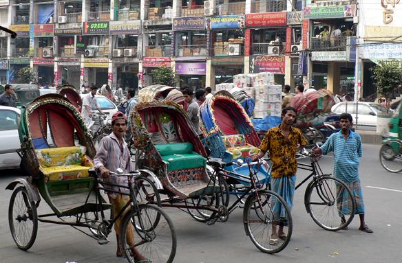 Obchodní centrum, Dháka, Bangladéš