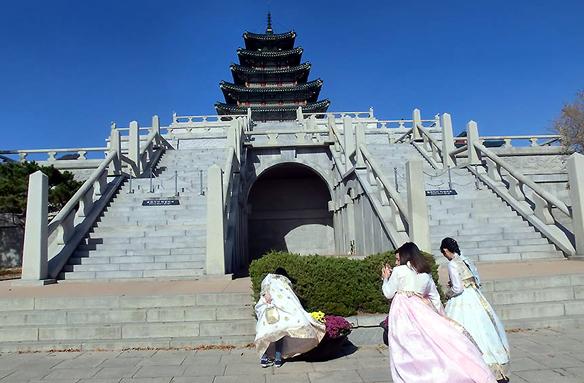 Palác Kjongbokkug, Soul, Korea