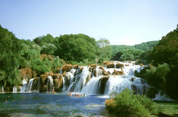 Vodopády řeky Krky