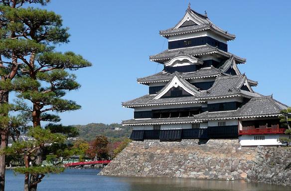Vraní hrad, Macumoto, Japonsko