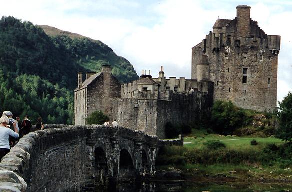 Hrad Eilean Donan, Skotsko