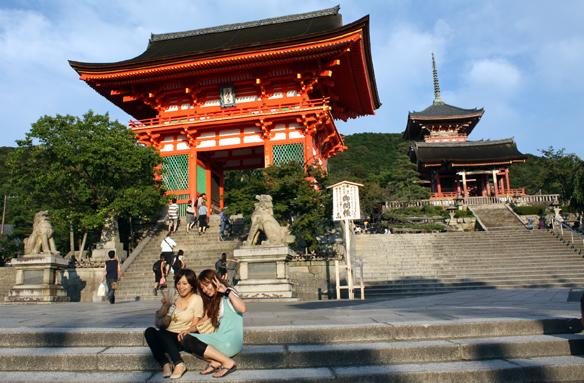 Chrám Kiyomizudera, Kjóto, Japonsko