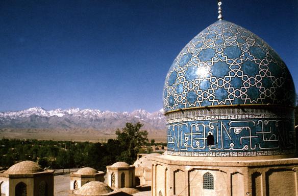 Hrobka Nematolláha Valího, Mahan, Írán