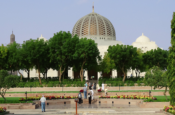 Velká mešita Sultána Qaboose, Maskat, Omán