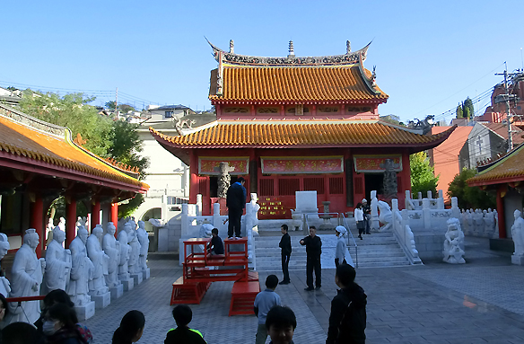 Konfuciova svatyně, Nagasaki, Japonsko