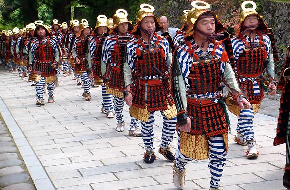 Festival Tóšógú, Nikkó, Japonsko