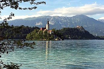 Jezero Bled, Slovinsko