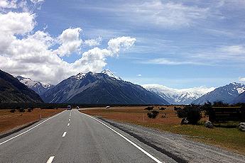 Mount Cook, Nový Zéland