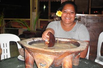 Obřad pití kavy, Jamajka