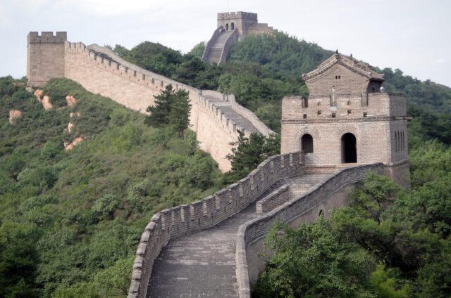 Velká čínská zeď, Badaling, Čína