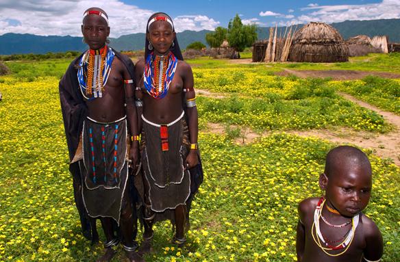 Domorodci, Etiopie