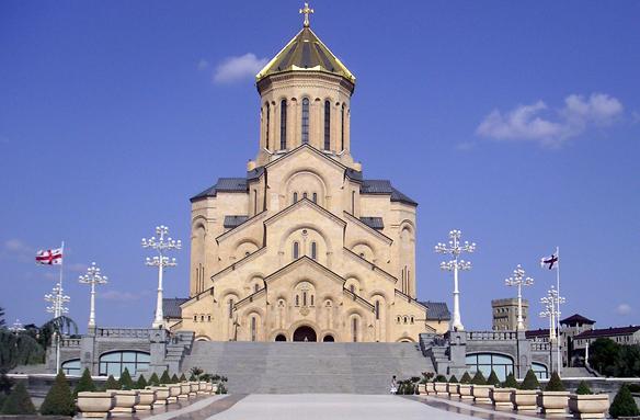 Kostel Nejsvětější Trojice, Tbilisi, Gruzie