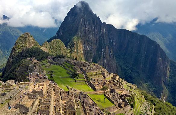 Ztracené město Inků Machu Picchu, Peru