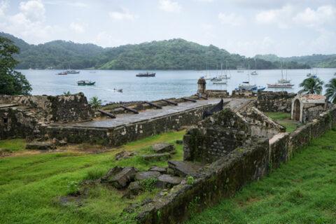 Pevnost, Portobelo, Panama