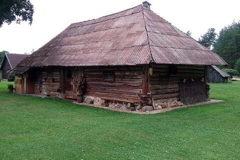 Dřevěné domky, Litva