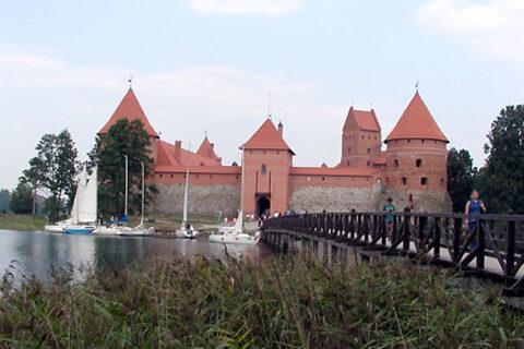 Hrad Trakai na ostrově, Litva