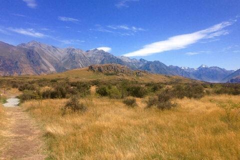 Krajina Rohanu, Mt. Sunday, Nový Zéland