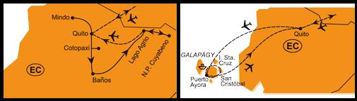 Mapa - 0443/EKVÁDOR A GALAPÁGY