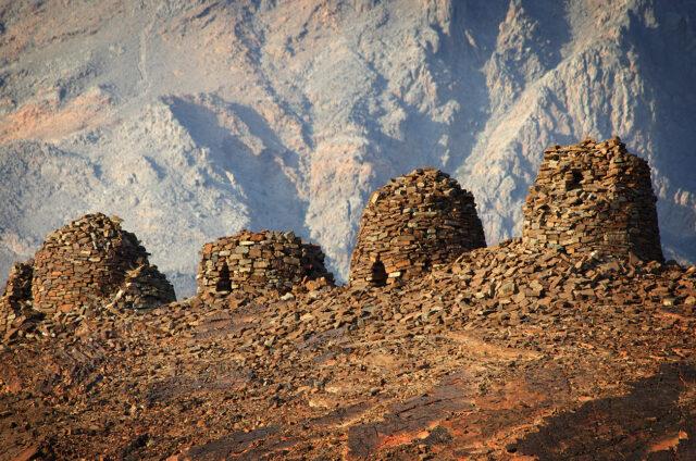Hroby Včelí úly, Al-Ain, Omán
