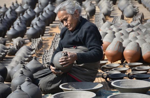Tradiční výroba keramiky, Nepál