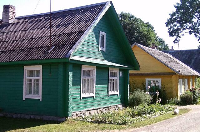 Dřevěná lidová architektura, Litva