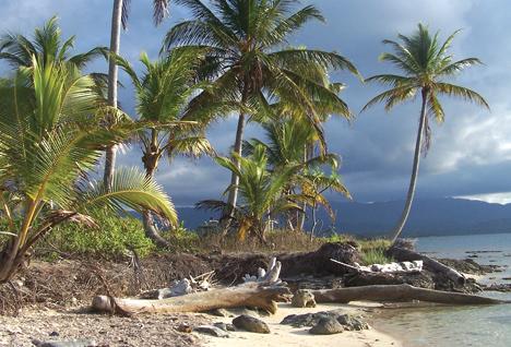 Panama - ostrovy San Blás