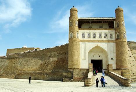 Pevnost Ark, Buchara. Uzbekistán