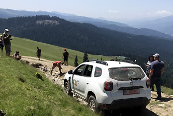 Transylvánií Offroad auty