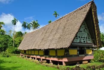 Yap - domy kultury Yapese