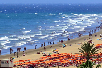 Pláže v Maspalomas